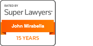 John Mirabella, Esquire 15 Years Super Lawyer